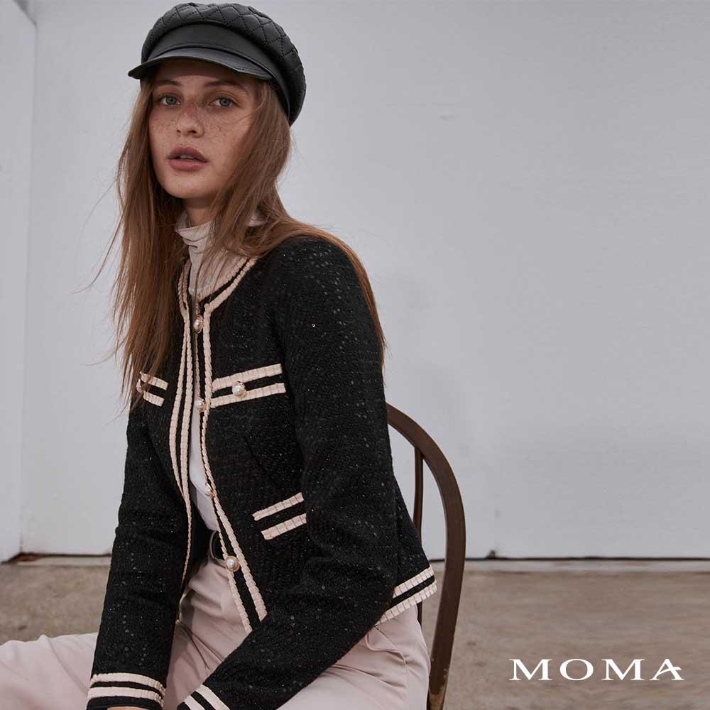 MOMA(02J066)經典款小香風外套-剩餘38號