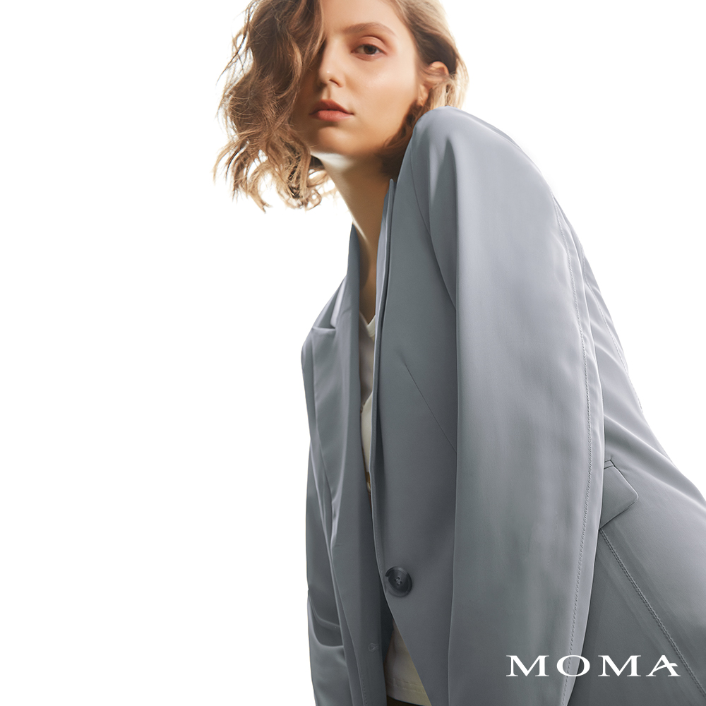 MOMA(02J034)簡約軟質西裝外套-剩餘40號