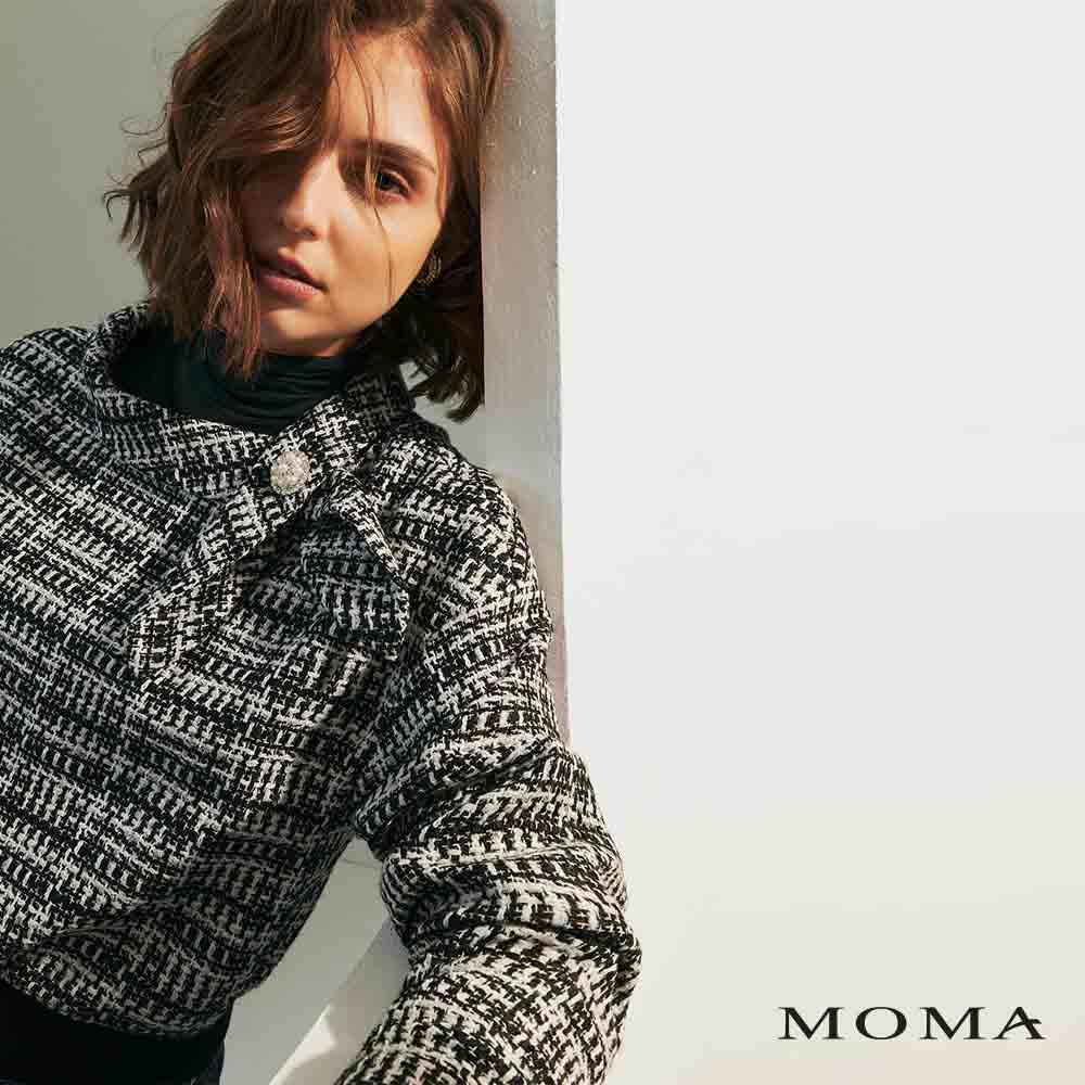 MOMA(02G068)格紋花呢上衣
