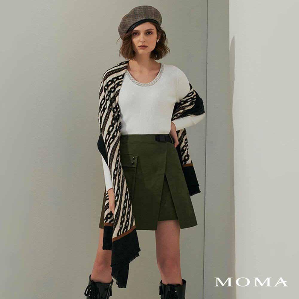 MOMA(02S071)個性工裝裙