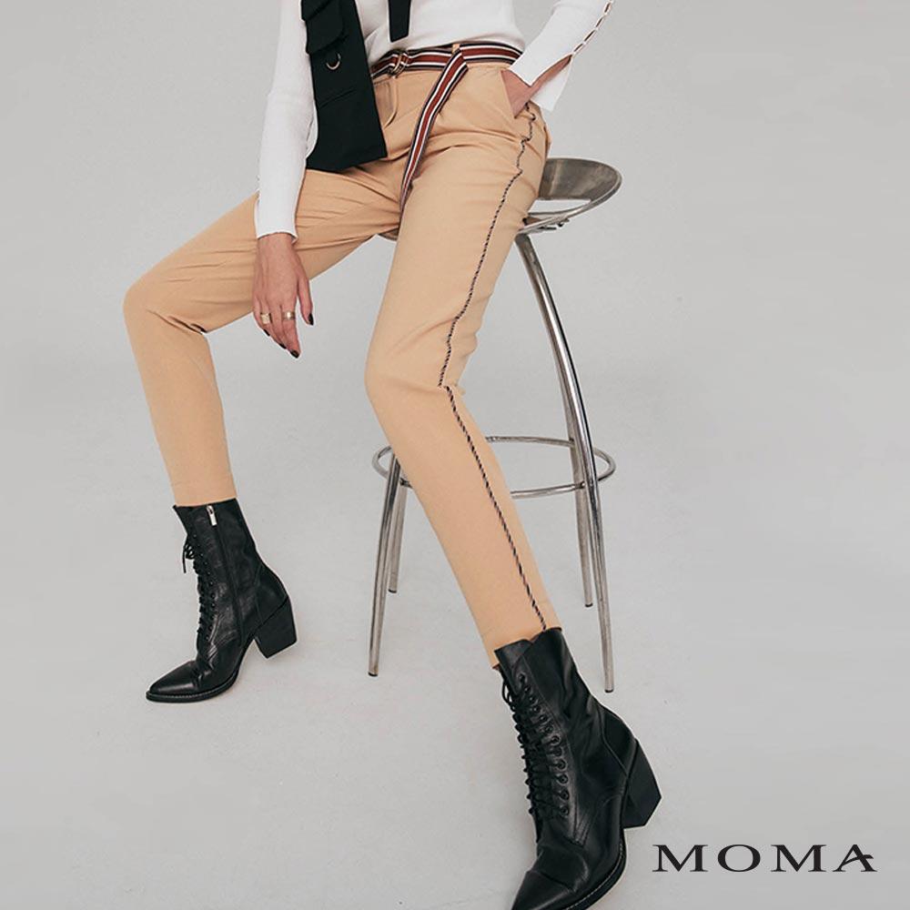 MOMA(02P094)打褶造型長褲