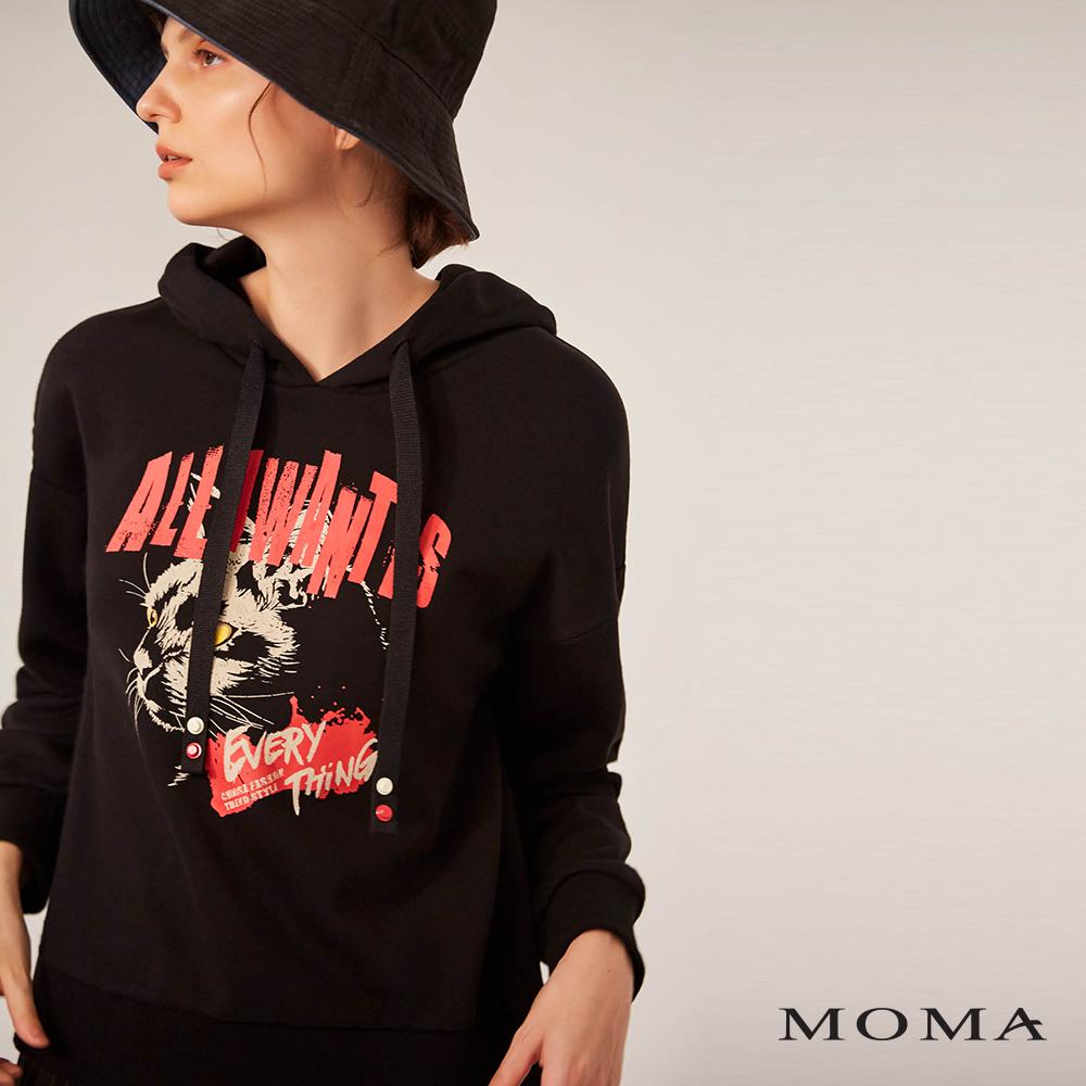 MOMA(02M039)酷潮連帽衛衣