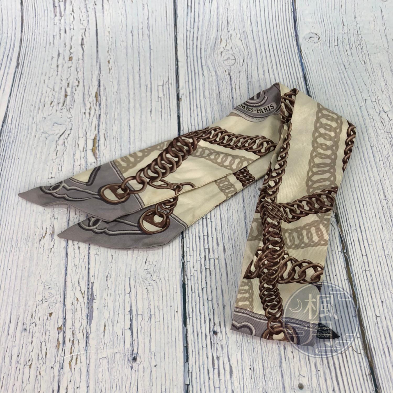 BRAND楓月 Hermes 愛馬仕 TWILLY 復古風 VINTAGE 鎖鍊 配件 配飾 裝飾品