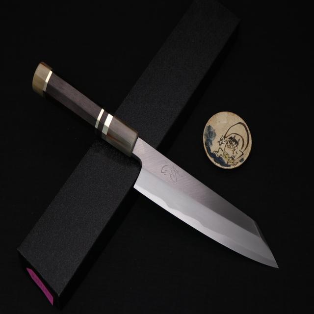 ⭕️初心 x 明神⭕️可刷卡🔥 單刃 劍形和牛刀 19.5cm 🔥中刀刀具網💯台中買刀推薦 goole 好評💯