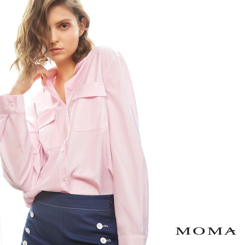 MOMA(02B013)雙口袋基本襯衫