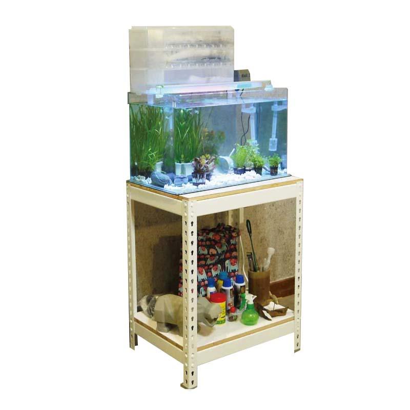 2尺雙層魚缸架  魚缸櫃 魚缸架 水族箱 水族架 水族箱架 展示架 濾水器 收納架 飼料架 收納櫃 收納層架 DIY 層架