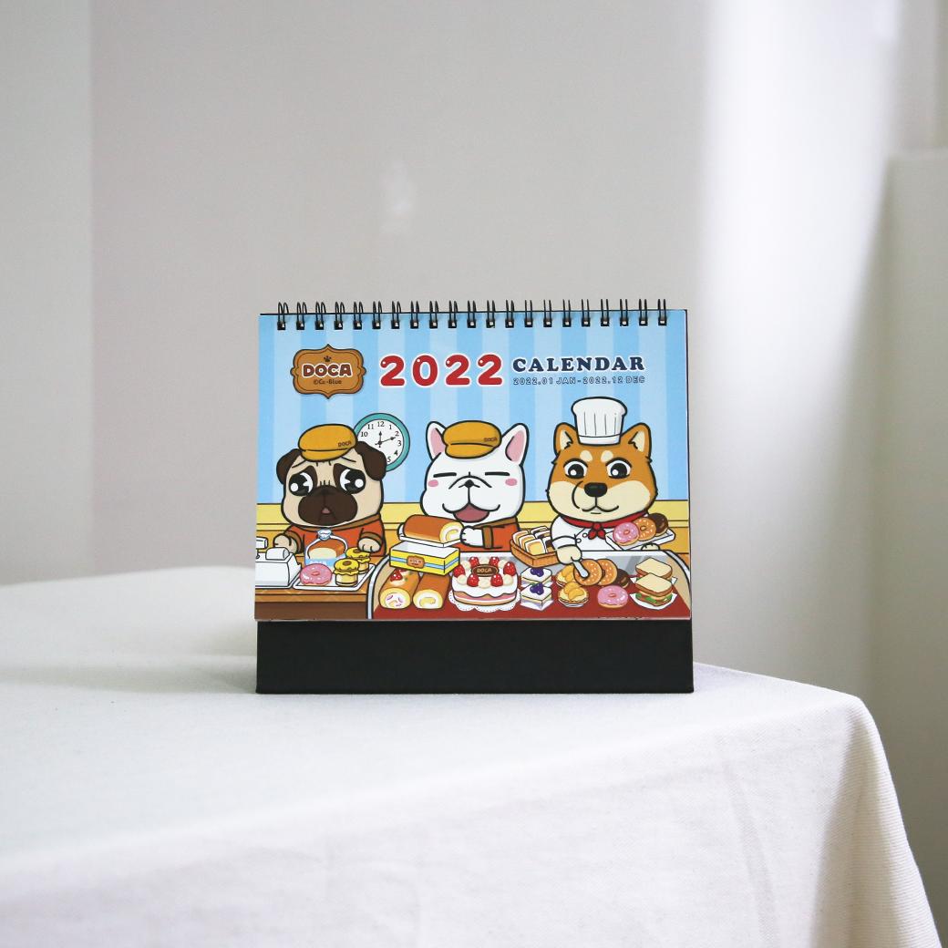 豆卡頻道_2022桌曆