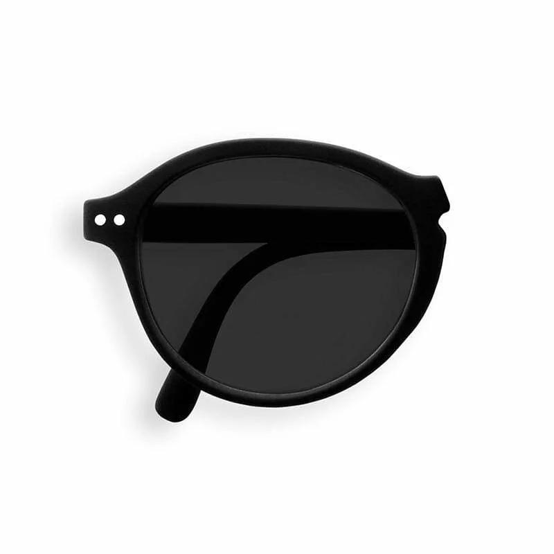 IZIPIZI   #F款 黑/灰色鏡片 摺疊太陽眼鏡