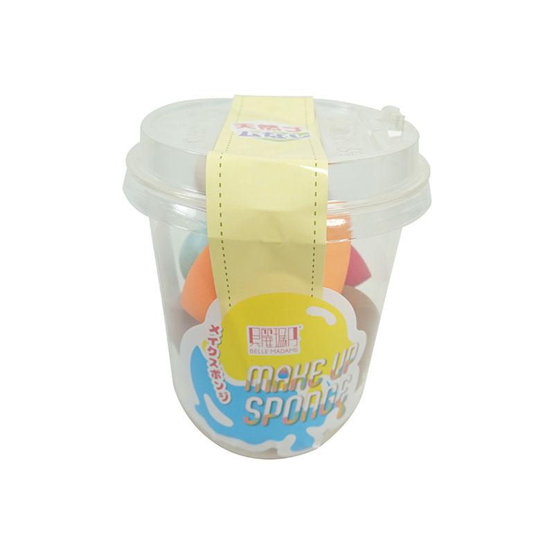 【貝麗瑪丹】來杯美妝蛋 隨機出貨 美妝蛋 PU材質 SBR材質