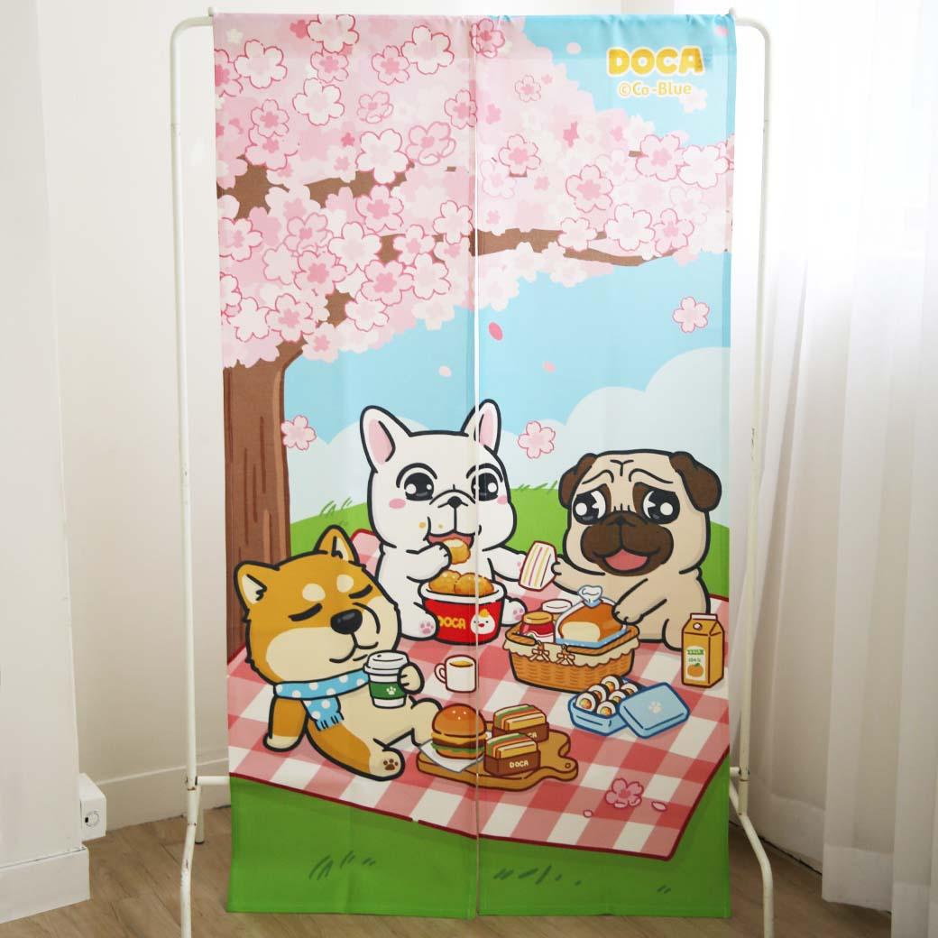 豆卡頻道_居家門簾-野餐趣