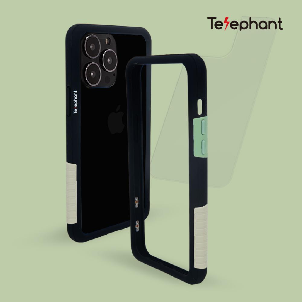 Telephant 太樂芬|NMDer 抗汙防摔手機殼 黑抹茶拿鐵 iPhone 13/13 Pro/13 Pro Max