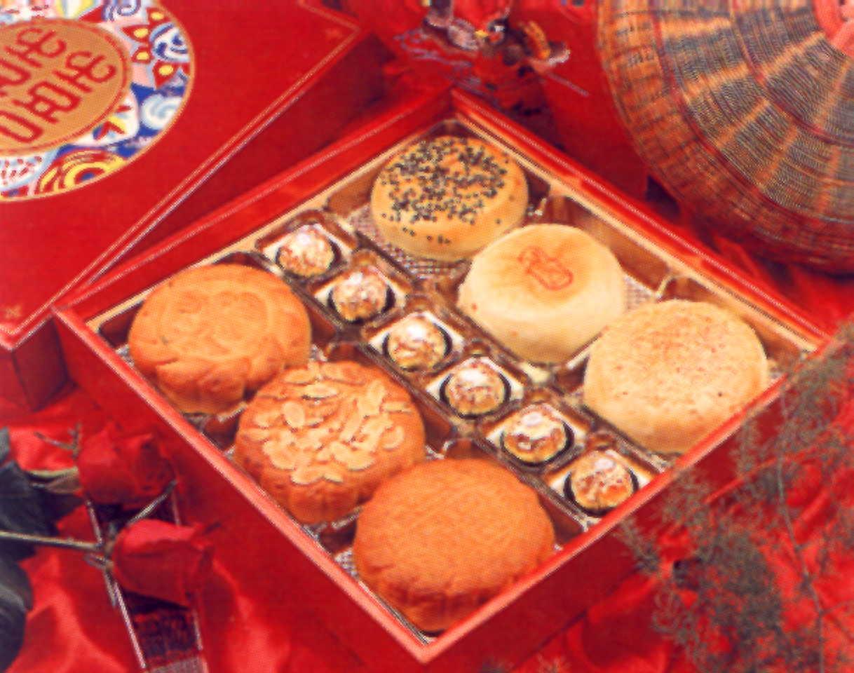 朱記素餅-全素訂婚喜餅禮盒(6粒裝)附金沙巧克力