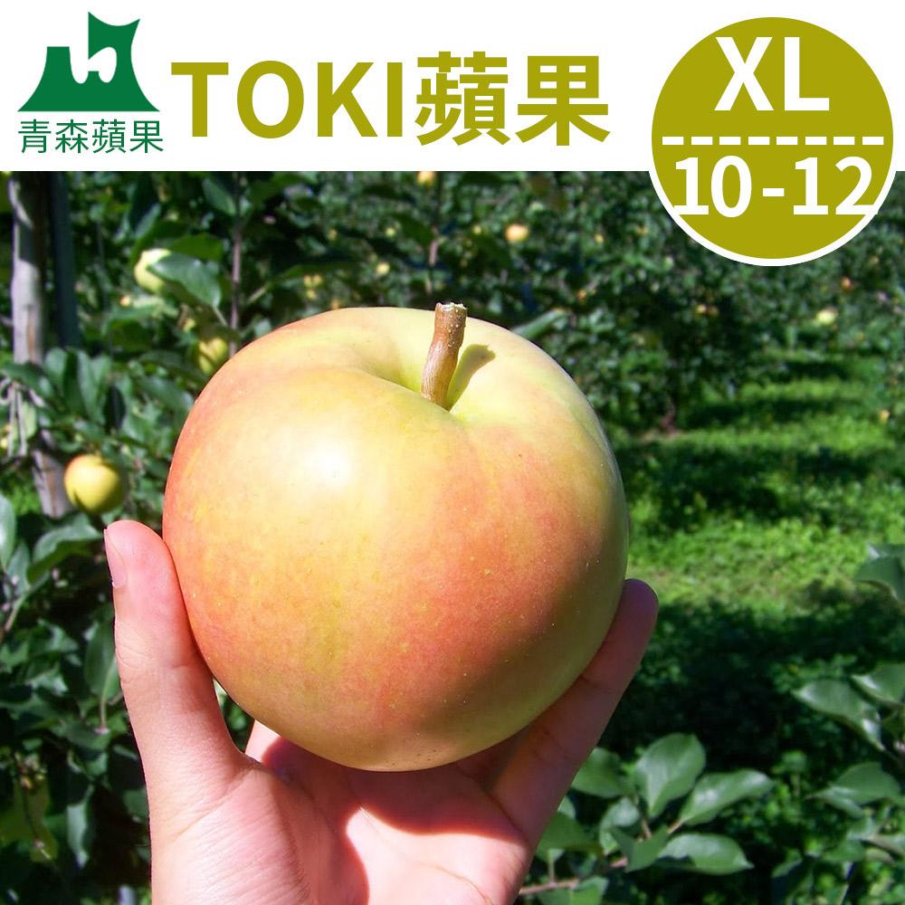10/8-10/12到貨[甜露露]青森蘋果TOKI XL 10-12入(3kg±10%)