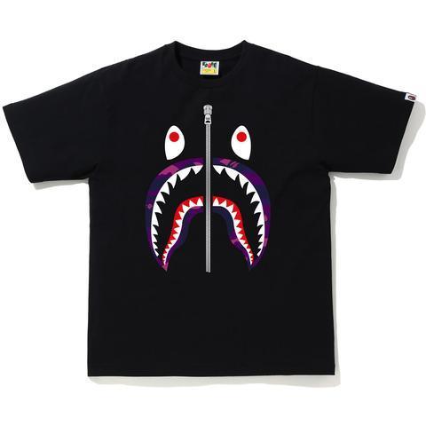 【MF SHOP】BAPE COLOR CAMO SHARK TEE 短袖T恤