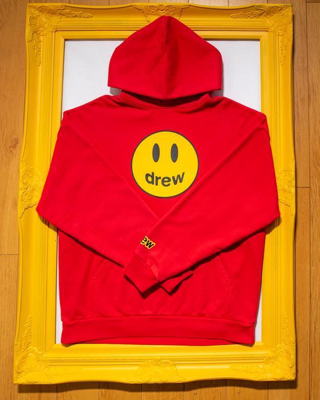 【MF SHOP】drew house mascot hoodie - red 連身帽T