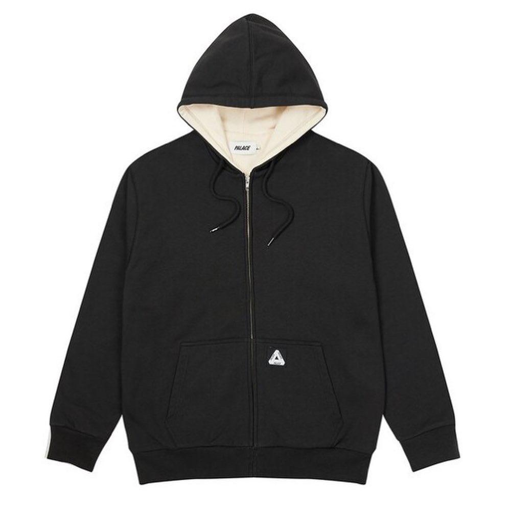 【MF SHOP】PALACE PATCH THERMAL ZIP HOODIE 連身外套