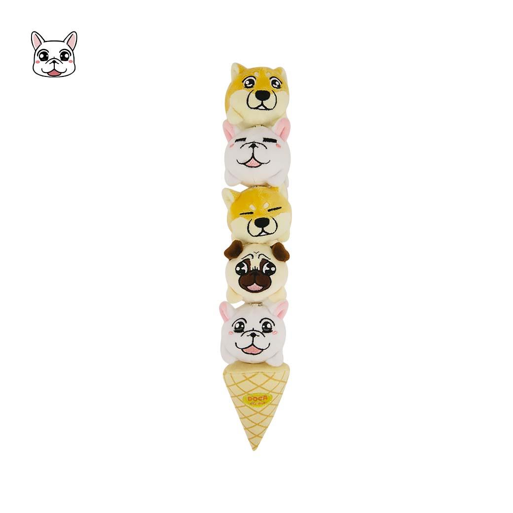 可布魯的豆卡頻道_可愛冰淇淋吊飾六件組