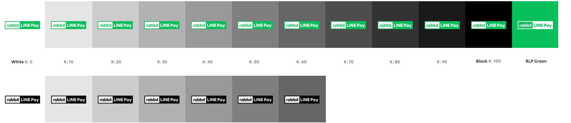 LINE Pay Logo Brightness