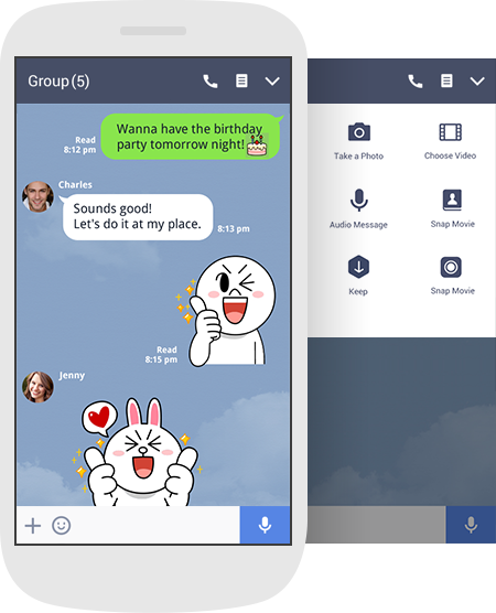 Line messanger download