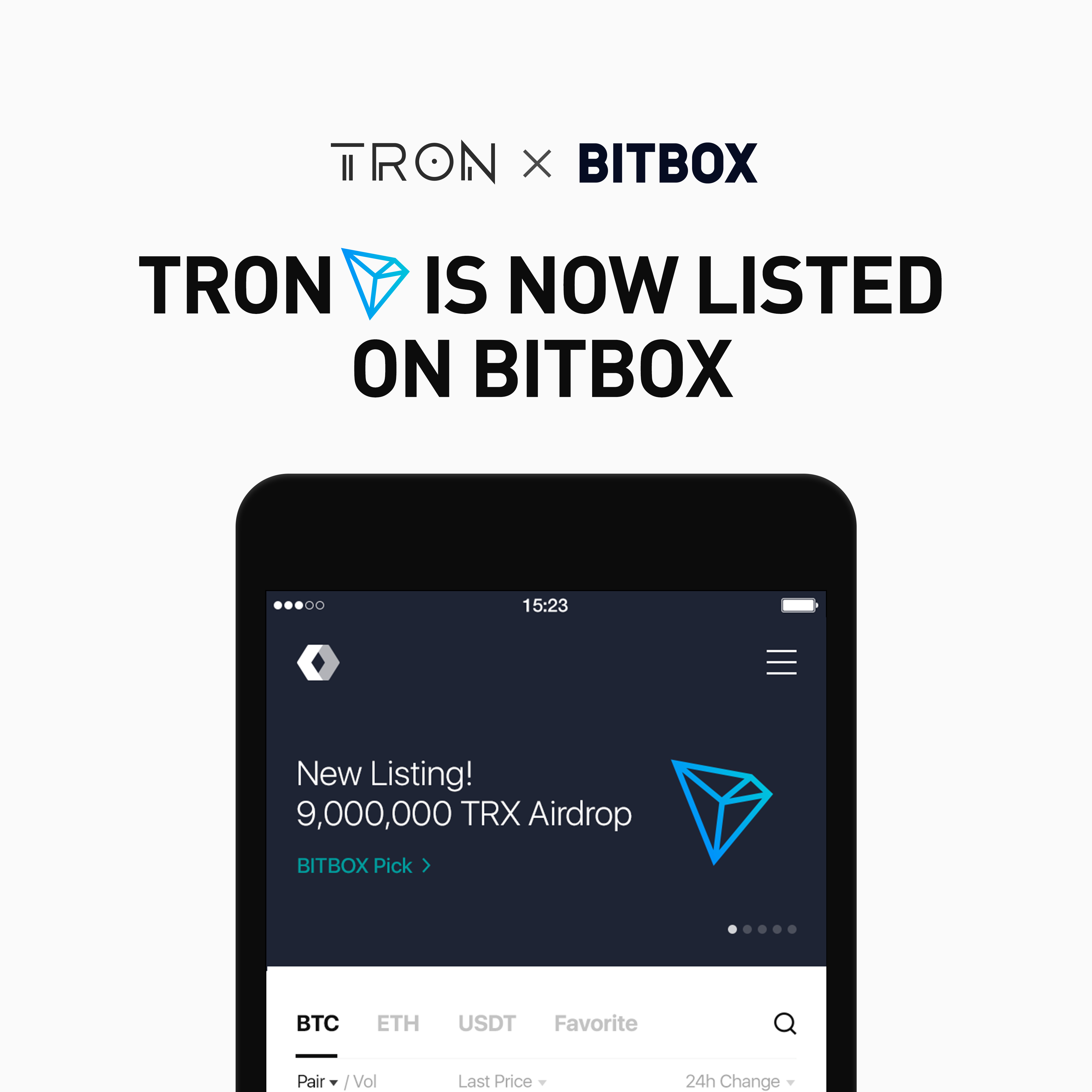 new cryptocurrency listed on exchange
