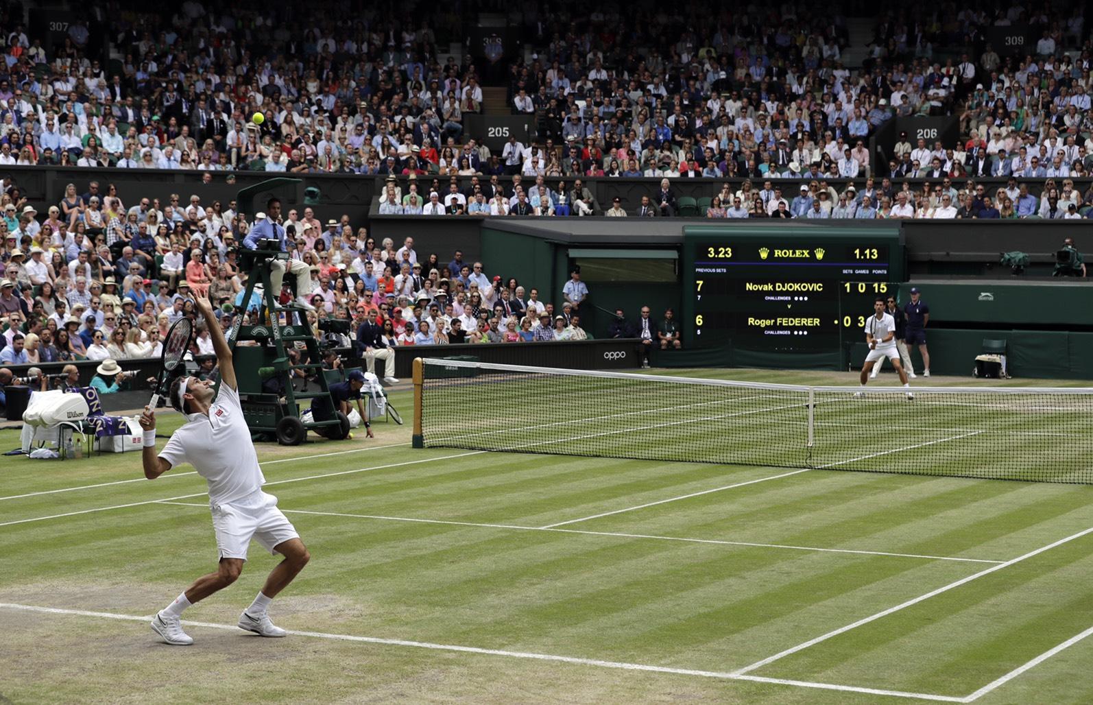 LINE TODAY首次直播《2021溫布頓網球錦標賽》